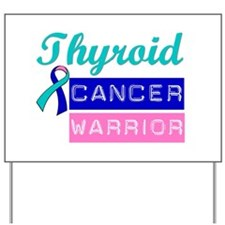 TC Cancer Warrior Yard Sign