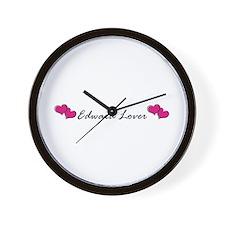 Edward lover Wall Clock
