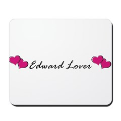 Edward lover Mousepad