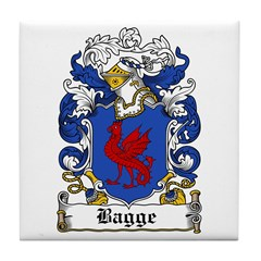 Bagge Coat of Arms Tile Coaster