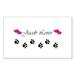 Jacob Lover Rectangle Decal
