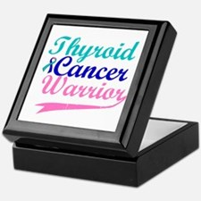 Thyroid Cancer Warrior Keepsake Box