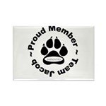 Imprinted Rectangle Magnet (10 pack)