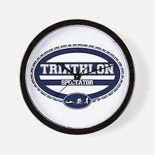 Triathlon Oval - Men's Spectator Wall Clock