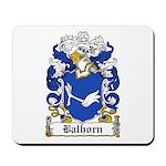 Balhorn Coat of Arms Mousepad