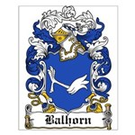 Balhorn Coat of Arms Small Poster