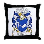 Balhorn Coat of Arms Throw Pillow