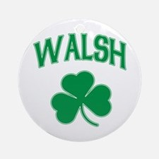 Irish Walsh Ornament (Round)