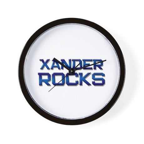 xander rocks Wall Clock