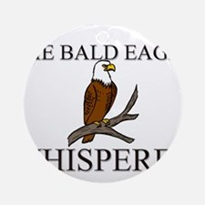 The Bald Eagle Whisperer Ornament (Round)