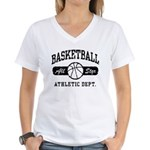 Basketball Women's V-Neck T-Shirt