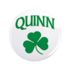 """Quinn Irish 3.5"""" Button"""