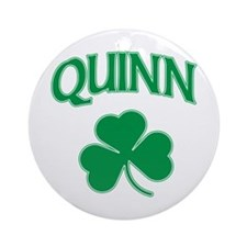 Quinn Irish Ornament (Round)