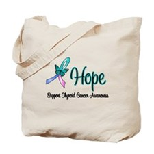 Thyroid Cancer Hope Tote Bag