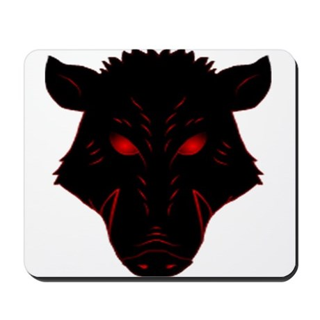 Razorback Logo Mousepad
