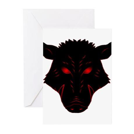 Razorback Logo Greeting Cards (Pk of 20)