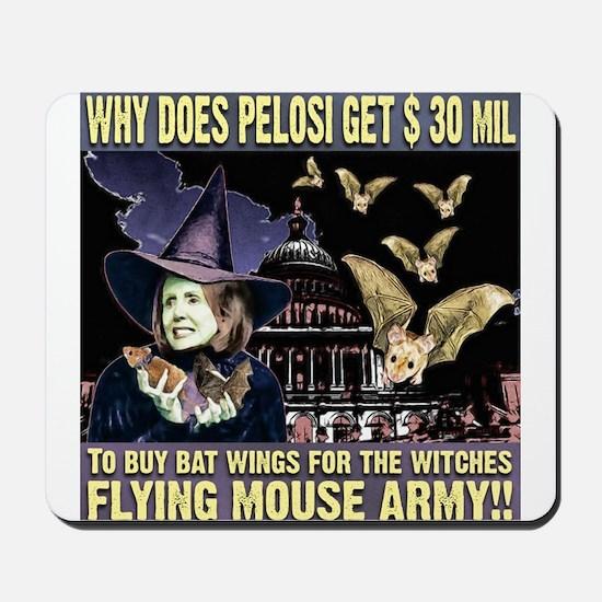 anti Nancy Pelosi Mousepad