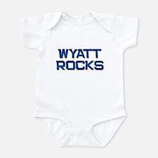 wyatt rocks Infant Bodysuit