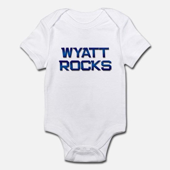 wyatt rocks Infant Bodysuit
