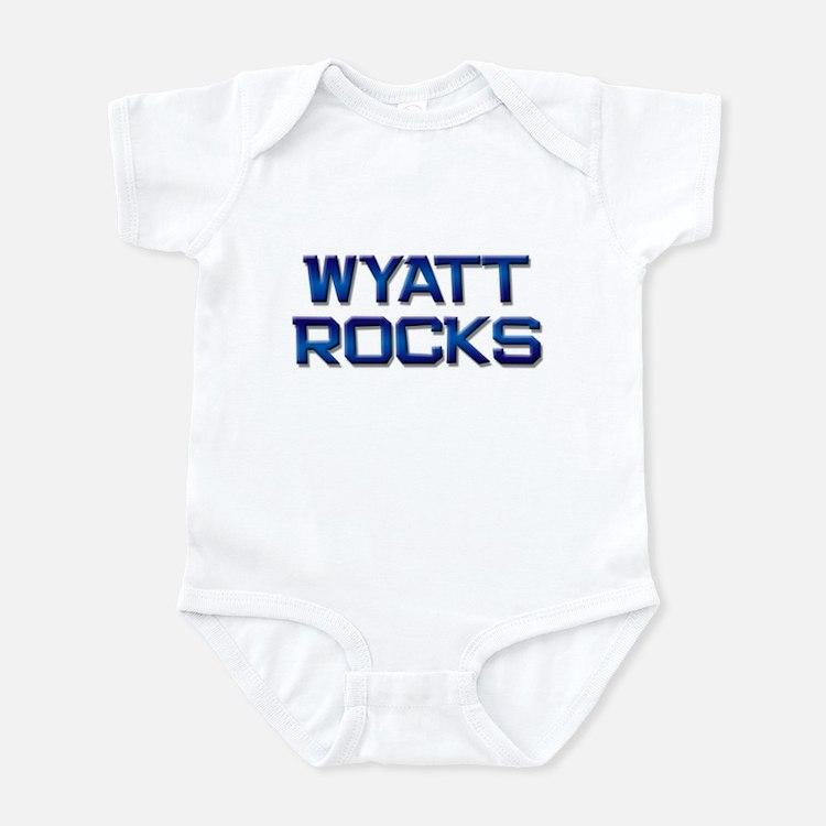 wyatt rocks Onesie