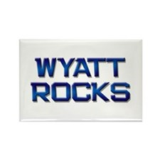 wyatt rocks Rectangle Magnet
