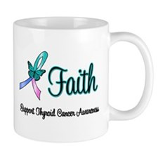 Thyroid Cancer Faith Mug