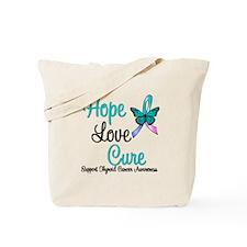 ThyroidCancerHopeLoveCure Tote Bag