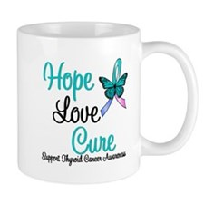 ThyroidCancerHopeLoveCure Mug