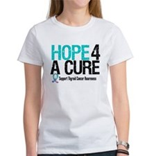 Thyroid Cancer Hope Cure Tee