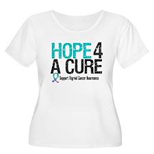 Thyroid Cancer Hope Cure T-Shirt