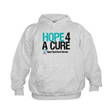 Thyroid Cancer Hope Cure Hoodie