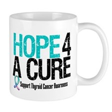 Thyroid Cancer Hope Cure Mug