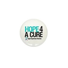 Thyroid Cancer Hope Cure Mini Button (10 pack)