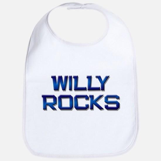 willy rocks Bib