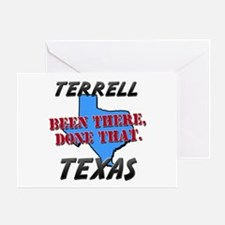 terrell texas - been there, done that Greeting Car