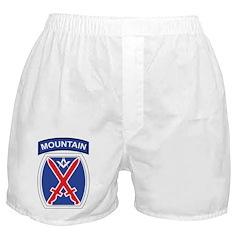 10th mountain division Mason Boxer Shorts