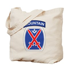 10th mountain division Mason Tote Bag