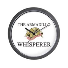 The Armadillo Whisperer Wall Clock