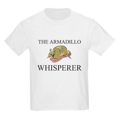 The Armadillo Whisperer Kids Light T-Shirt