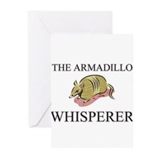 The Armadillo Whisperer Greeting Cards (Pk of 10)