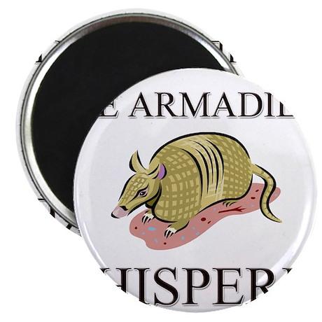 """The Armadillo Whisperer 2.25"""" Magnet (10 pack)"""