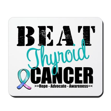 Beat Thyroid Cancer Mousepad