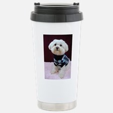 Stainless Steel Maltese Travel Mug