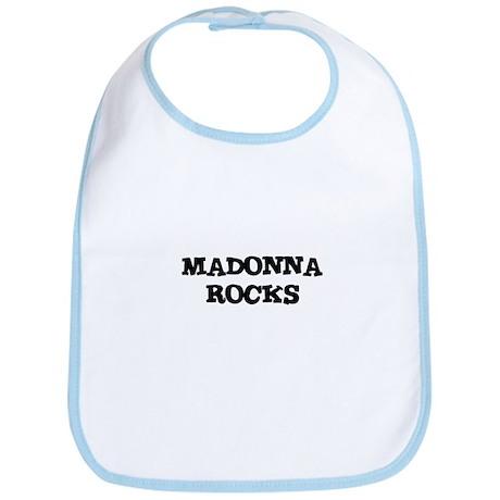 MADONNA ROCKS Bib