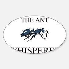 The Ant Whisperer Oval Decal