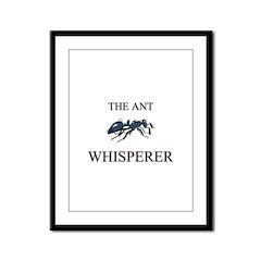 The Ant Whisperer Framed Panel Print