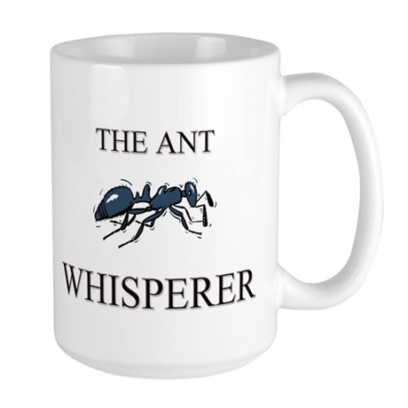 The Ant Whisperer Large Mug