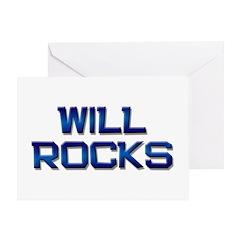will rocks Greeting Card
