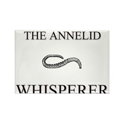 The Annelid Whisperer Rectangle Magnet