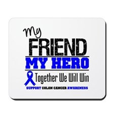 ColonCancerHero Friend Mousepad